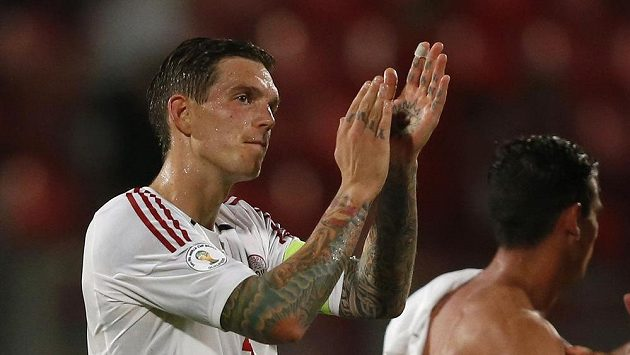 Dánský fotbalista Liverpoolu Daniel Agger