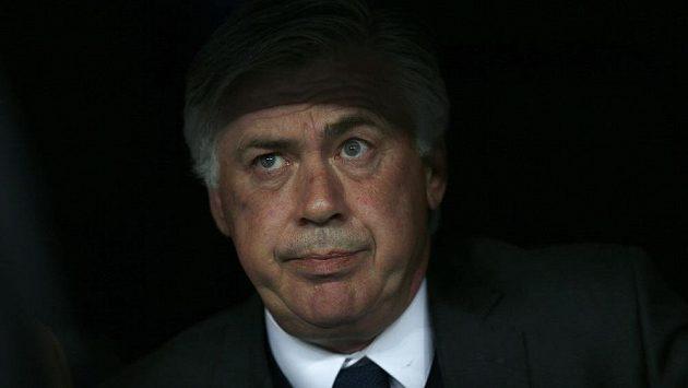 Madridský trenér Ancelotti v odvetném zápase Ligy mistrů proti Juventusu (1:1).