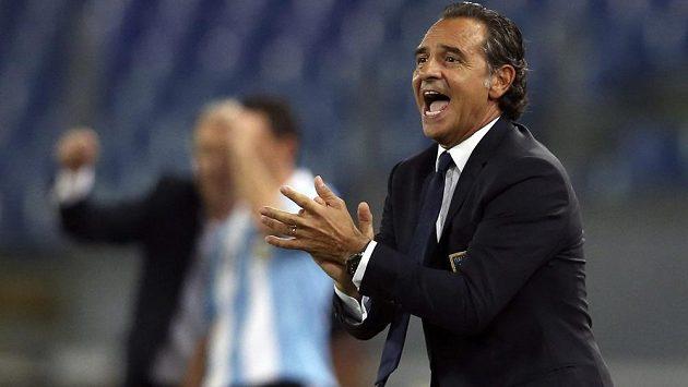 Kouč italských fotbalistů Cesare Prandelli.