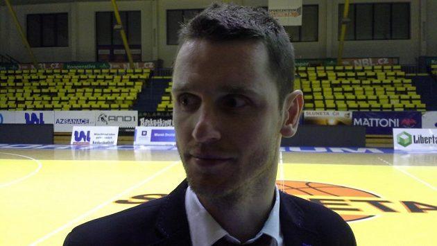 Trenér Svitav Lubomír Růžička.