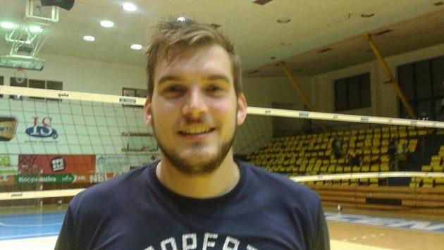 Volejbalista Tomáš Halanda.