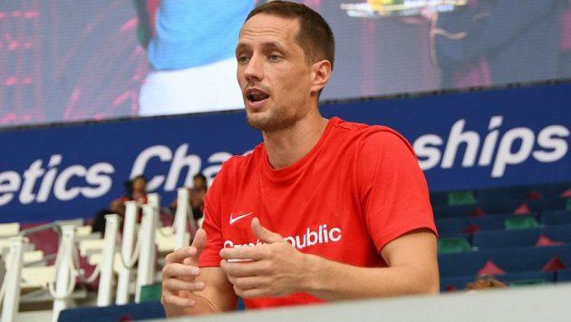Oštěpař Vítězslav Veselý jako trenér.