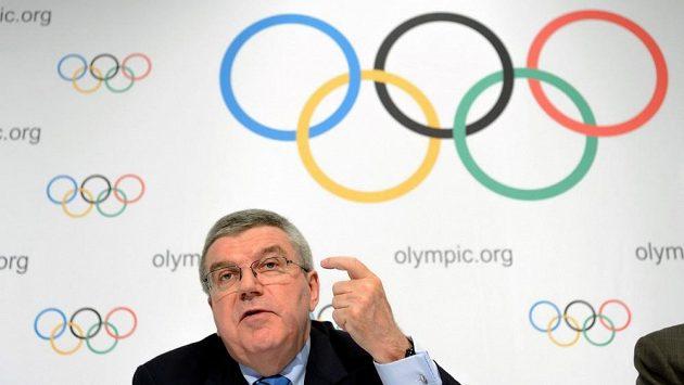 Předseda Mezinárodního olympijského výboru Thomas Bach - ilustrační foto.