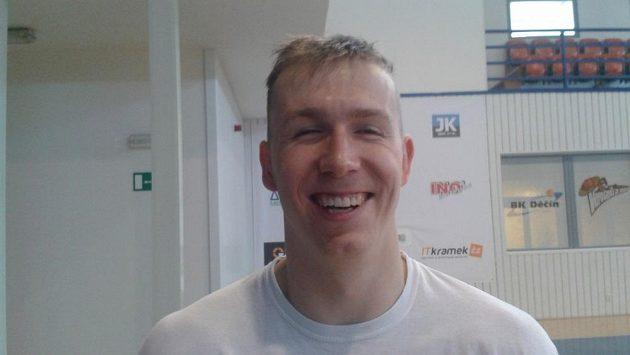 Děčínský basketbalista Tomáš Vyoral.