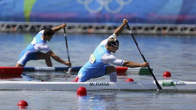 Martin Fuksa ve finále olympijského závodu C1 na 1000 metrů chybět nebude.
