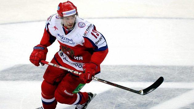 Ruský hokejista Pavel Dacjuk.
