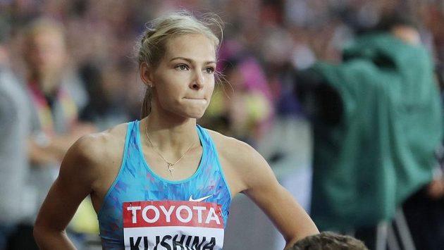 Vicemistryně světa ve skoku do dálky, Ruska Darja Klišinová.