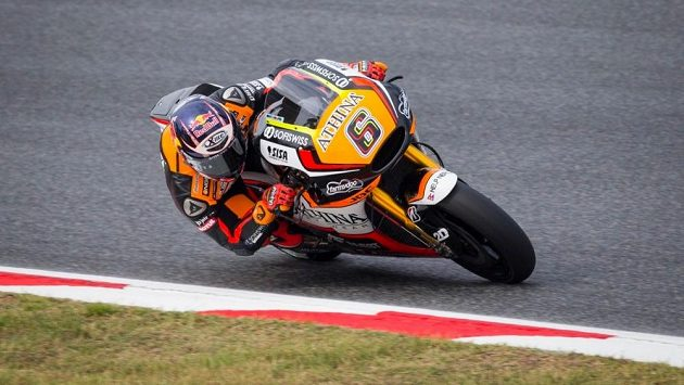 Německý motocyklista Stefan Bradl.