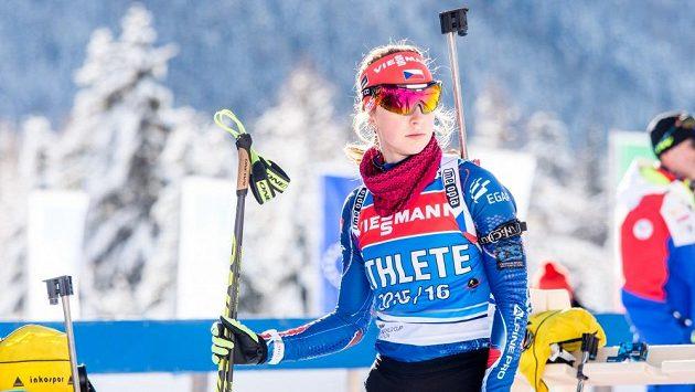 Jessica Jislová nahradí ve štafetě Evu Puskarčíkovou.