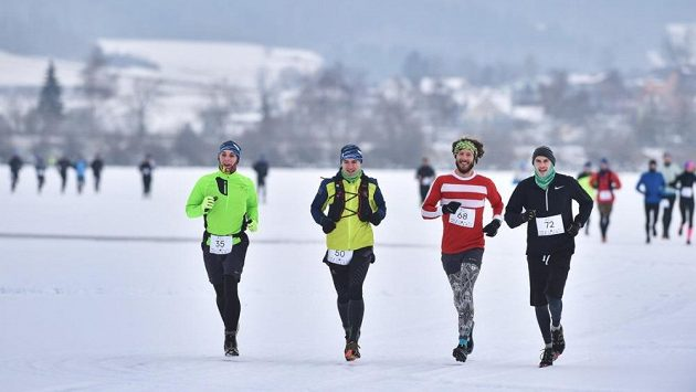 Lipno Ice Marathon - na Lipně je veselo i v zimě.