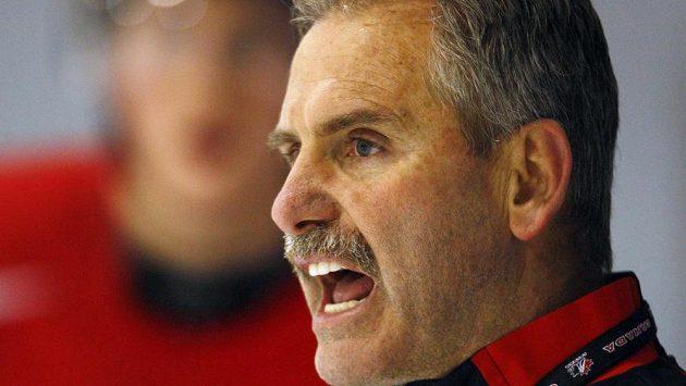 Kouč Willie Desjardins povede hokejisty Vancouveru.