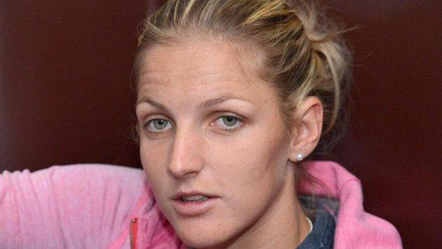 Česká tenistka Karolína Plíšková bude v duelu s Kanadou plnit roli týmové jedničky.