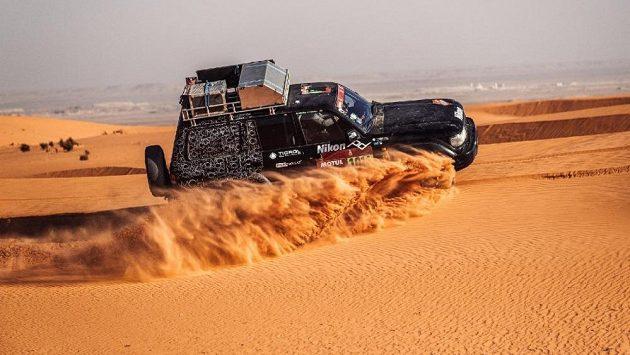 Český fotograf Chytka zase dělal na slavném Dakaru pro vítěze, fotil hvězdy.