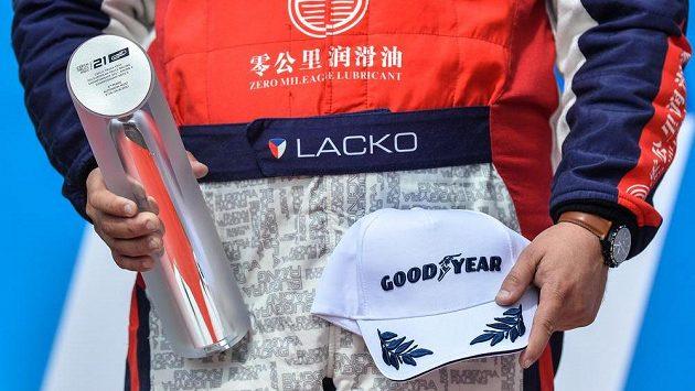 Adam Lacko dojel ve třetím závodě v Mostě na druhém místě.