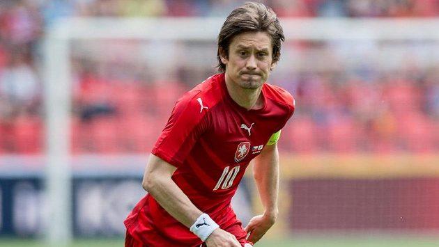 Záložník Tomáš Rosický chystá návrat do Sparty.