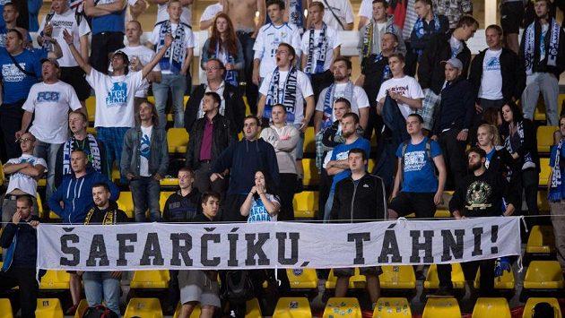 Fanoušci Baníku Ostrava. Ilustrační foto.