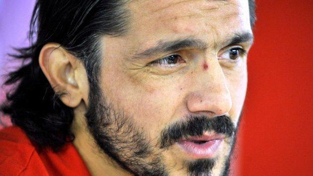 Trenér Gennaro Gattuso