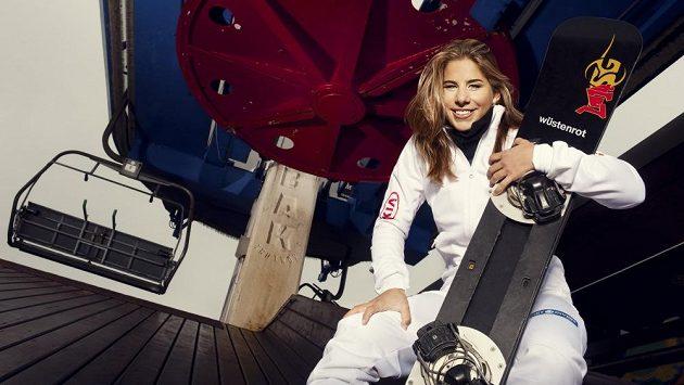 Snowboardistka a lyžařka Ester Ledecká.