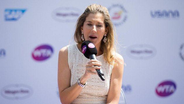 Bývalá tenisová hvězda Monica Selešová.