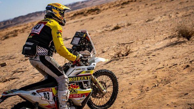 Jan Brabec na zrádné trati Dakaru