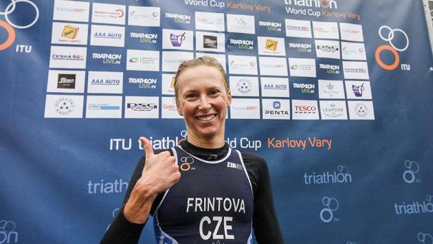 Triumf v Karlových Varech si Vendula Frintová nadělila k 35. narozeninám.