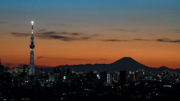 Záznam: Tokio se rozsvítilo v olympijských barvách