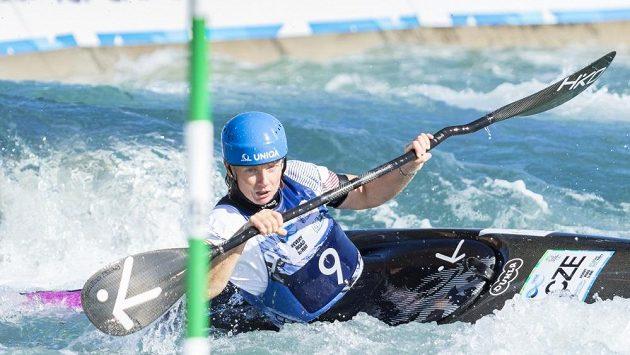 Štěpánka Hilgertová v Lee Valley bojuje o postup do finále mistrovství světa.