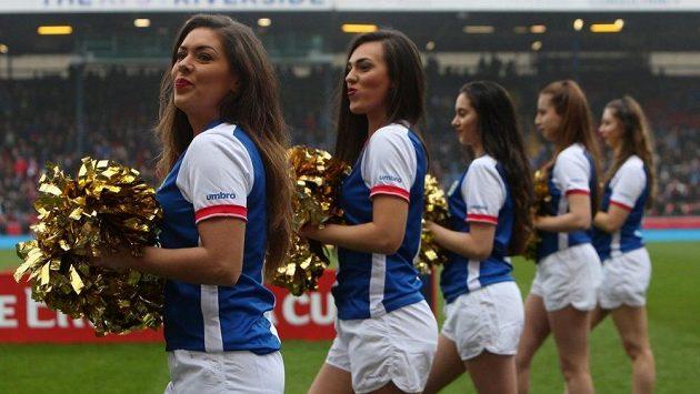 Roztleskávačky klubu Blackburn Rovers - ilustrační foto