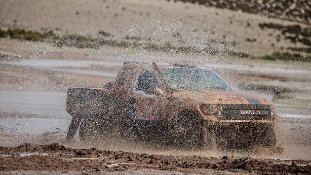Boris Vaculík na trati Rallye Dakar.