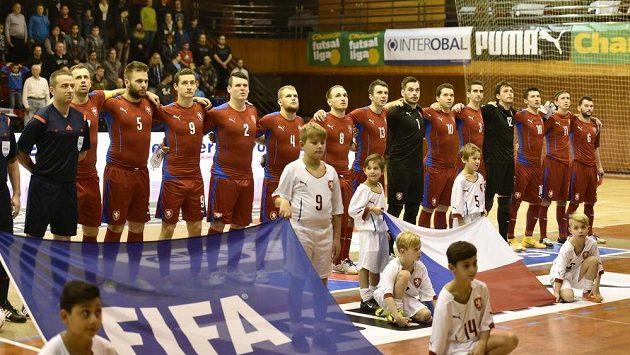 Čeští futsalisté