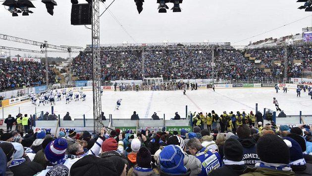 Ledová plocha za Lužánkami. Ilustrační snímek