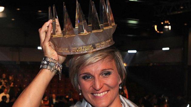 Barbora Špotáková, královna českých sportovců pro rok 2012, předá korunu své nástupkyni. Nebo snad nástupci?