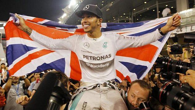 Jezdec formule 1 Lewis Hamilton.