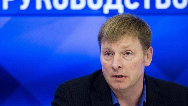 Alexander Zubkov na snímku z listopadu 2017.