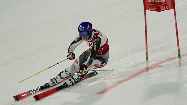 Slovenka Petra Vlhová vyhrála i paralelní obří slalom SP v Lech/Zürs.