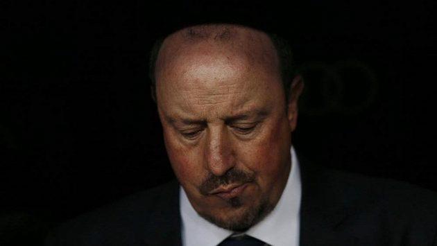 Odvolaný kouč Realu Madrid Rafael Benítez.
