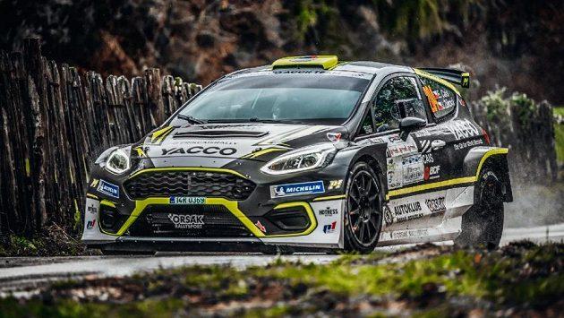 Česká rallyová naděje Erik Cais skončil v italském Ciocco jedenáctý.