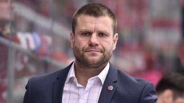 Trenér české hokejové dvacítky Václav Varaďa.