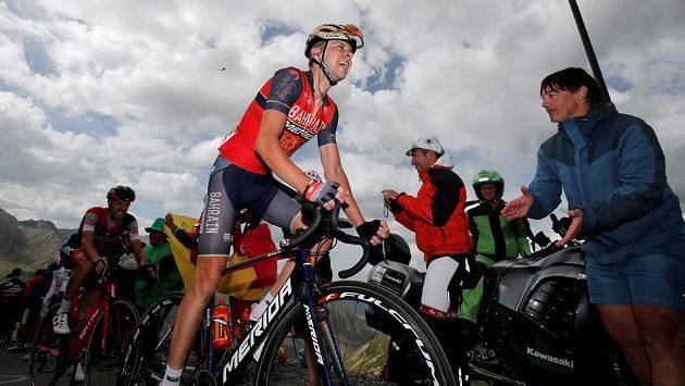 Český cyklista Ondřej Cink v 17. etapě Tour de France.