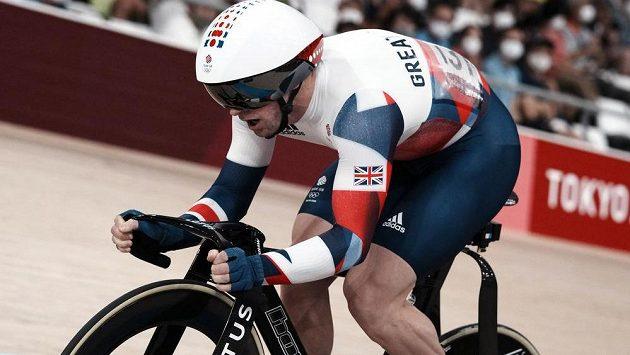 Vítězem olympijského závodu dráhařů v keirinu se stal Brit Jason Kenny.