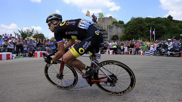 Francouz Sylvain Chavanel při letošní Tour.