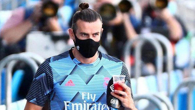 Útočník Realu Madrid Gareth Bale