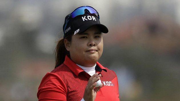 Korejská golfistka Pak In-pe