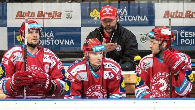 Jiří Dopita na archivním snímku ještě jako trenér Třince.