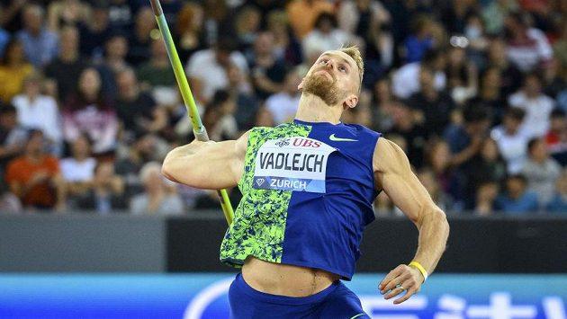 Jakub Vadlejch ve finále Diamantové ligy v Curychu