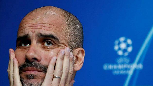 Trenér Manchesteru City Josep Guardiola