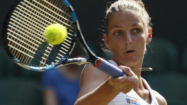 Karolína Plíšková se s letošním Wimbledonem rozloučila nečekaně brzy.