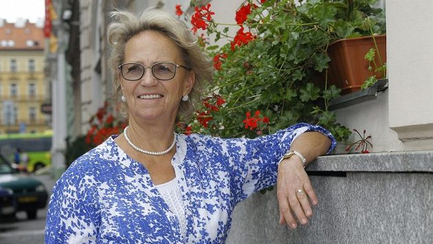 Bývalá krasobruslařka Eva Graham Romanová.