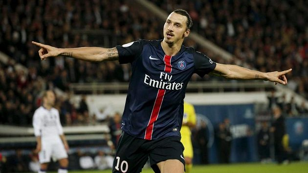 Zlatan Ibrahimovic, kanonýr PSG