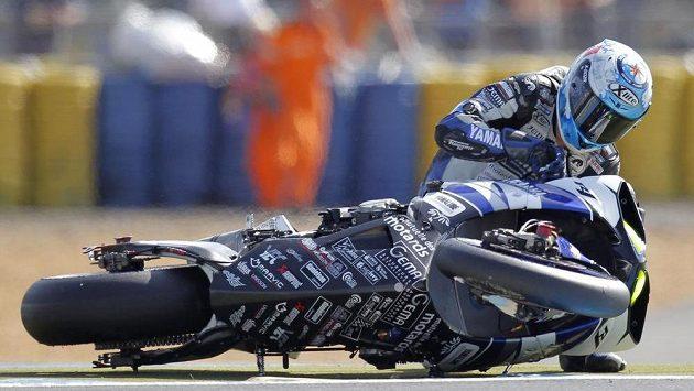V závodech silných motocyklů není o nehody nouze (ilustrační foto).